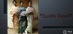 sridevi-boney-kapoor-n-daughters-japanese-look
