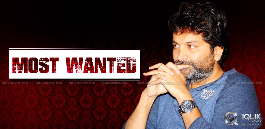 trivikram-most-wanted-director-by-mega-heroes
