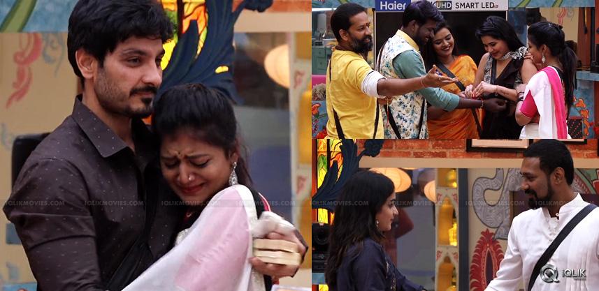 Contestants Of Bigg Boss Become Emotional While Celebrating Rakhi