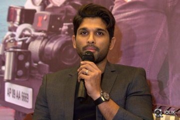 Allu Arjun Sarrainodu Movie Press Meet In Bangalore