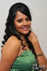 Anasuya at Idega Aasa Paddav Audio Launch