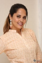 Anasuya at O Pitta Katha Movie Pre Release Event