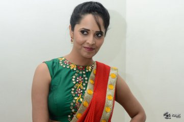 Anasuya at Soggade Chinni Nayana Movie Audio Launch