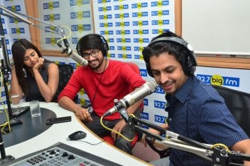 Andhagaadu Movie Team At Big Fm