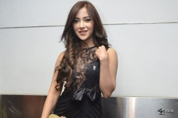 Angela Krislinzki at Rogue Movie Trailer Launch