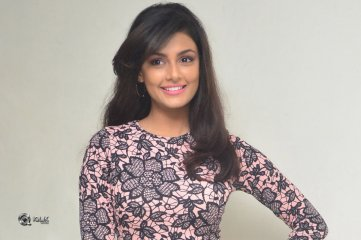 Anisha Ambrose At Fashion Designer Movie Press meet