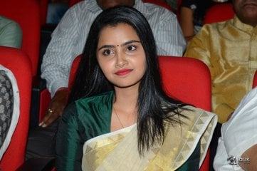 Anupama Parameswaran at A Aa Movie Audio Launch