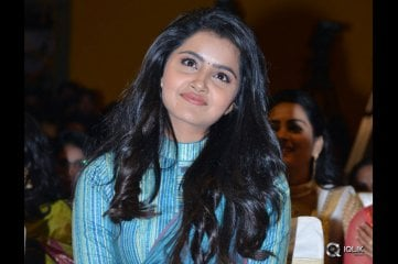 Anupama Parameswaran at Shatamanam Bhavati Movie Audio Launch