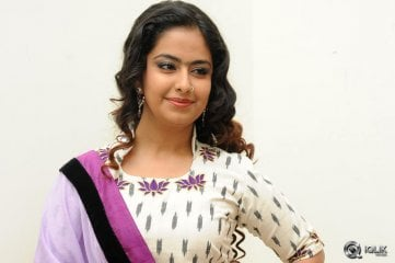 Avika Gor at Cinema Chupistha Mava Movie Audio Launch