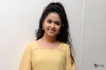 Avika Gor at Cinema Chupistha Mava Movie First Look Launch