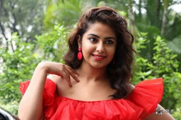 Avika Gor at Raju Gari Gadhi3 Movie Pre Release Press Meet