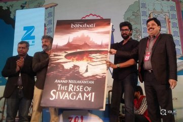Baahubali Before The Beginning The Rise of Sivagami Book Launch