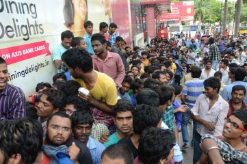 Baahubali Tickets Hungama at Theaters