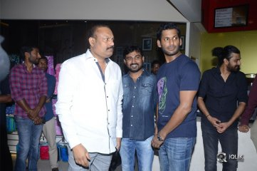 Celebs at Abhimanyudu Movie Premiere Show