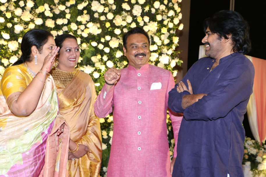 Celebs at Jayasudha Kapoor Elder Son Nihar Wedding Reception