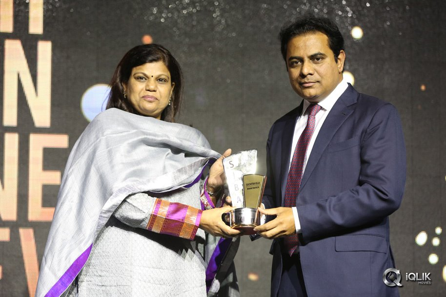 Celebs at The South Indian Business Achievers Awards