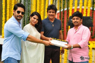 Chaitanya-and-Samantha-New-Movie-Launche-Photos