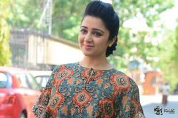 Charmme Kaur at Jyothi Lakshmi Book Launch