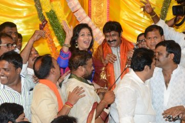Dictator Movie Song Launch at Khairtabad Ganesh