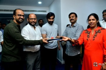 Disco Raja Movie Opening Stills