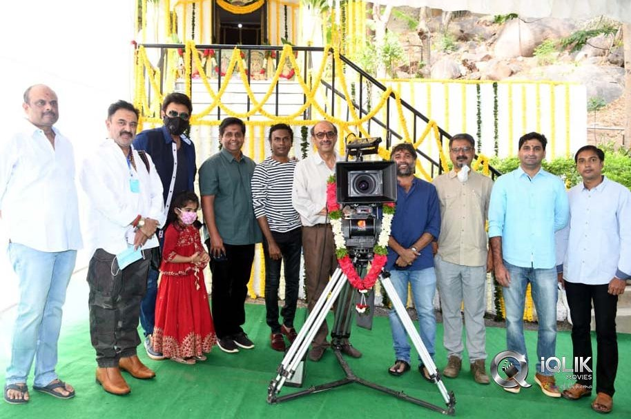 Drushyam2 Movie Launch