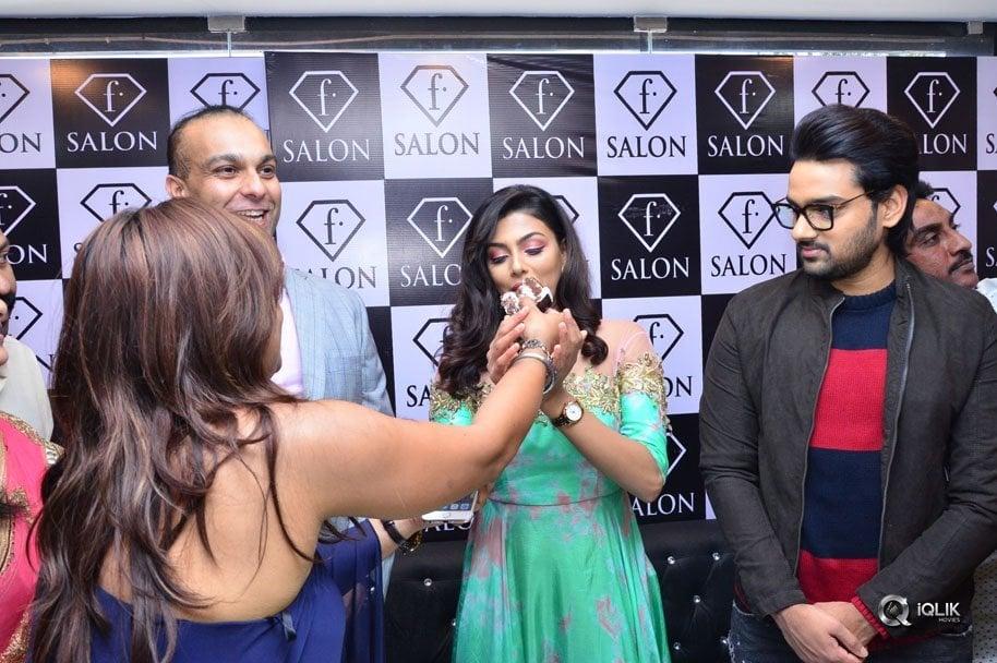 Fashion Designer Movie Team Launches F Salon At Jubilee Hills