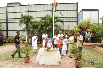 Geetha-Arts-Office-Flag-Hoisting-Pics