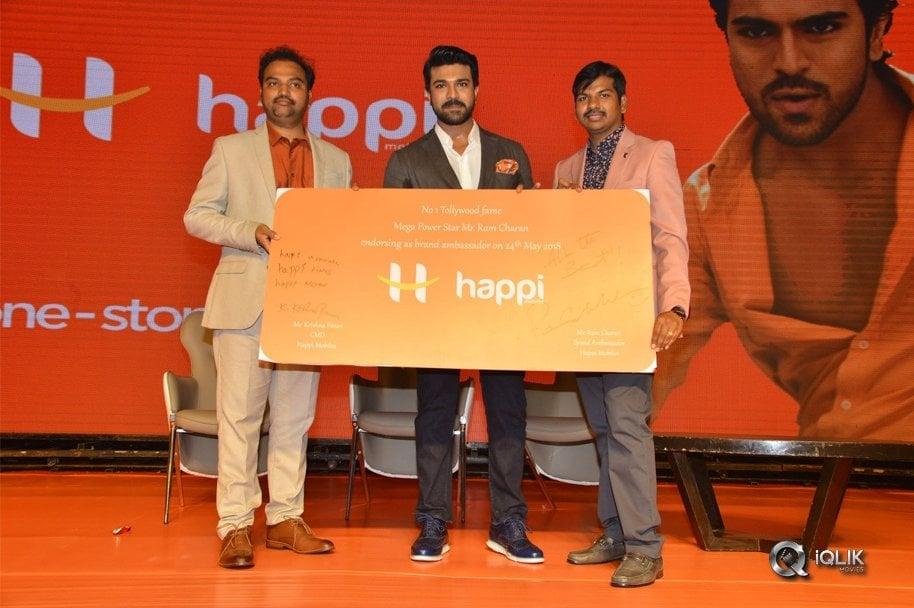 Happi-Mobiles-Brand-Ambasidor-as-Ramcharan-Pressmeet
