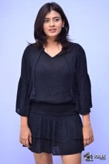 Hebah Patel at Angel Movie Teaser Launch