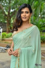 Heeba Patel at 24 Kisses Movie Pressmeet