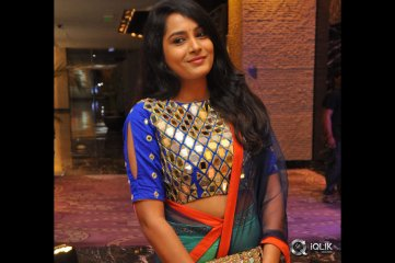 Himaja at Shatamanam Bhavati Movie Success Meet