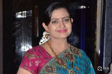 Indraja at Shatamanam Bhavati Movie Success Meet