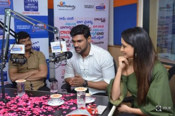 Jaya Janaki Nayaka Movie Team At Radio City