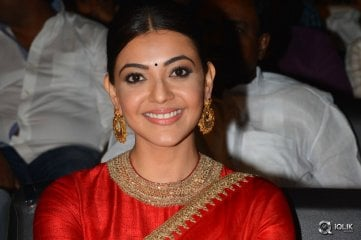 Kajal Aggarwal at Brahmotsavam Movie Audio Launch