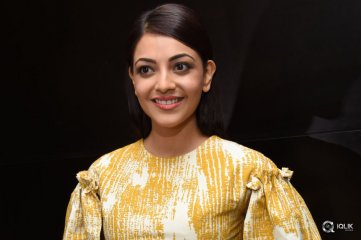 Kajal Aggarwal at Brahmotsavam Movie Release Press Meet