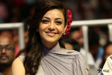 Kajal Aggarwal at Sardaar Gabbar Singh Movie Audio Launch