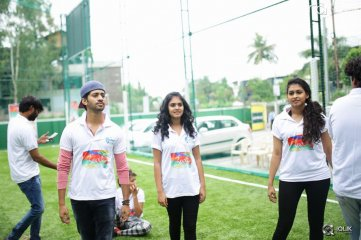 Kerintha Movie Team At Bubble Soccer Event