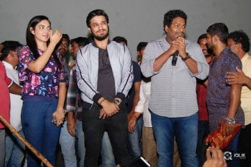 Keshava Movie Team at Sandhya Theater