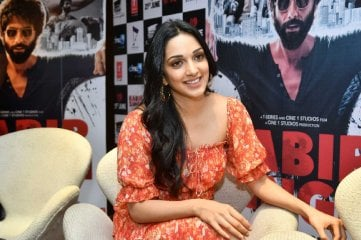 Kiara Advani at Kabir Singh Interview