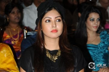 Komal-Jha-at-Billa-Ranga-Audio-Launch
