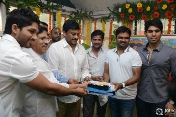 Kotha janta Movie Opening