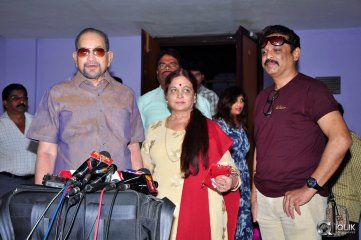 Krishna-and-Vijaya-Nirmala-at-Garam-Movie-Special-Show