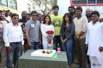Lavanya Tripathi Birthday Celebrations At Mister Shooting