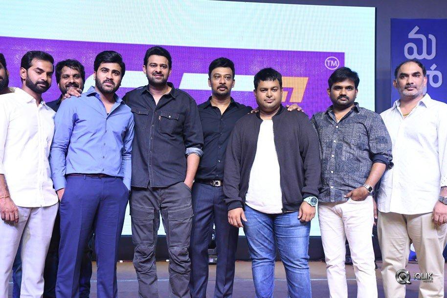 Mahanubhavudu-Movie-Pre-Release-Function