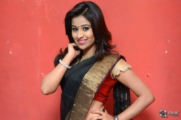 Manali Rathod at Kavvintha Movie Audio Launch