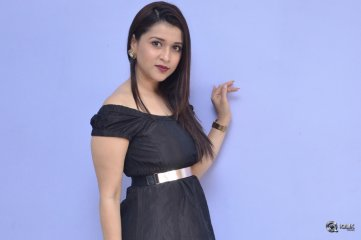 Mannara Chopra at Rogue Movie Success Meet