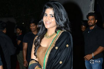 Megha Akash at Chal Mohan Ranga Movie Pre Release Event