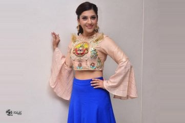 Mehreen Pirzada At Raja The Great Movie Trailer Launch