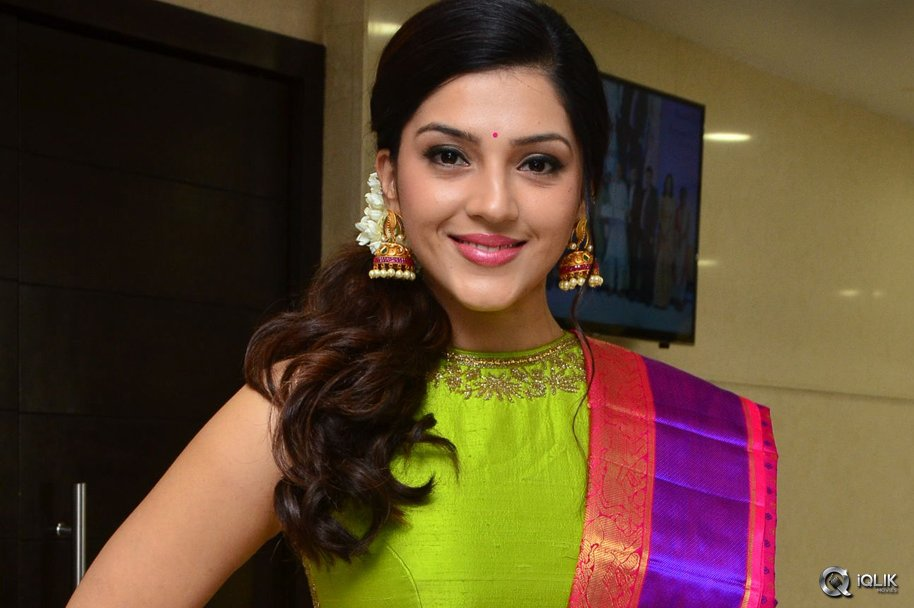 Mehreen Pirzada at Diwali New Collections Fashion Show