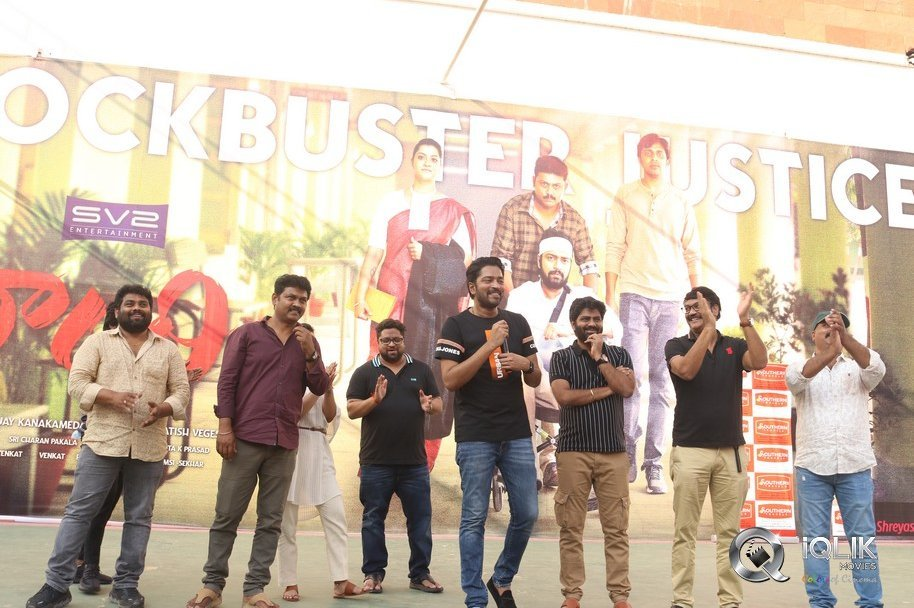 Naandhi Team at Guntur Success Meet